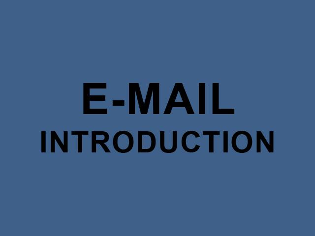 Этикет интродакшна по e-mail